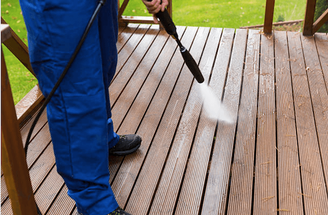 deck cleaning rockville