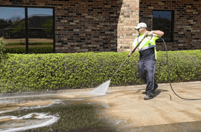 commercial concrete cleaning in rockville