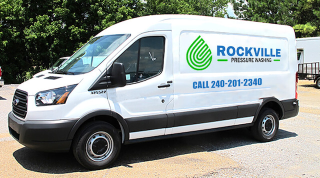 rockville pressure washing van